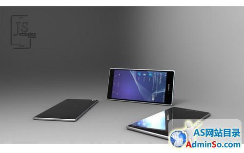 3GB RAM/2K屏 索尼Xperia Z2概念机图赏