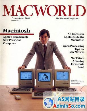 乔布斯曾出尔反尔拒登《Macworld》杂志封面