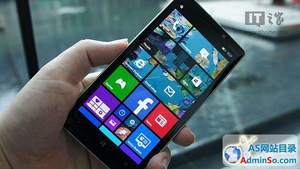 WP8.1手机诺基亚Lumia930真机图赏介绍