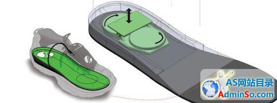 充电鞋垫:走8千米充满iPhone