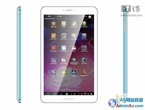 599元,七彩虹G808 3G八核平板售价曝光