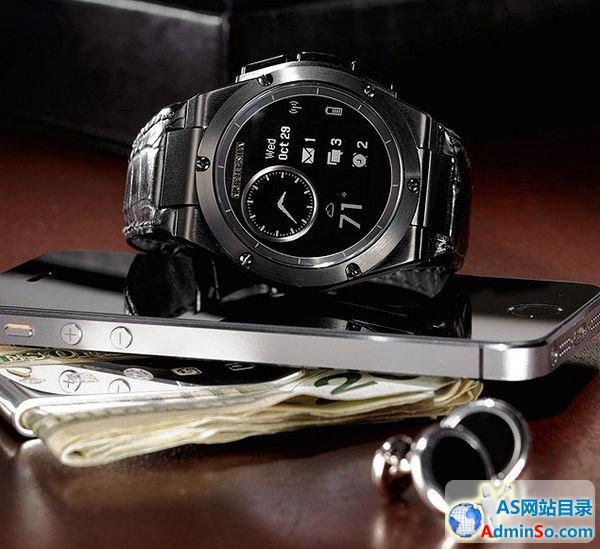 时尚真时尚:比美Moto 360的惠普智能手表首支广告