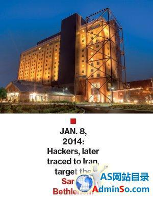 伊朗黑客用VB程序破坏赌场计算机