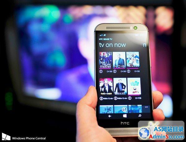 增加学习功能 WP8.1版《HTC遥控器》更新