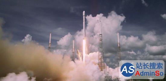 发射9分钟后着陆回收 猎鹰9号发射时间轴
