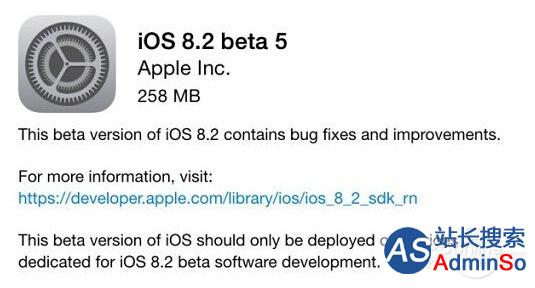 iOS8.2;Apple Watch;WatchK