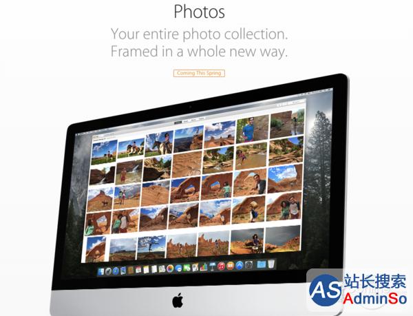 iPhoto;OS X 10.10.3;Photos