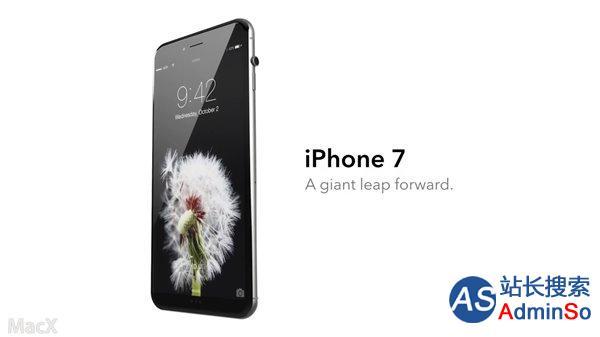数码表冠+USB-C接口 iPhone7全新概念设计