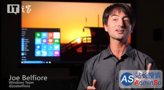 生产力提升!视频演示Win10手机平板模式