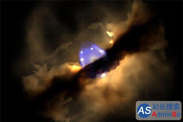 4200光年外恒星成长过程 历时18年拍摄