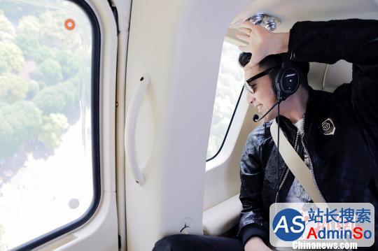 Uber在华首推一键呼叫直升机服务赵又廷成首飞乘客