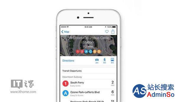 重点推苹果地图 苹果关闭导航应用HopStop服务