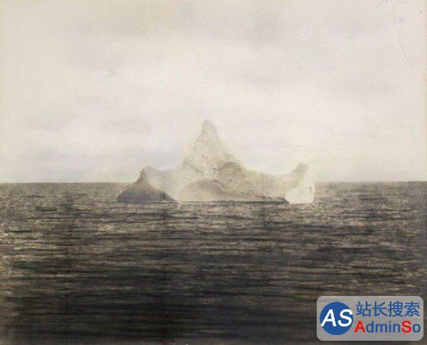 或拍1万英镑 撞泰坦尼克号冰山最可信照片出现