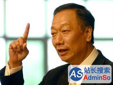 全球最佳CEO: 郭台铭排第33 中国大陆无人上榜