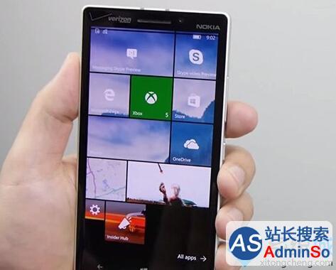 微软:Win10 Mobile版10572今日获更新