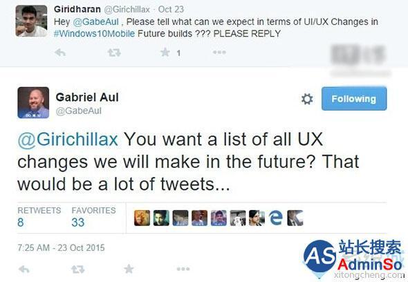 微软证实:Win10 Mobile版未来仍会有大量UI/UX变化出现