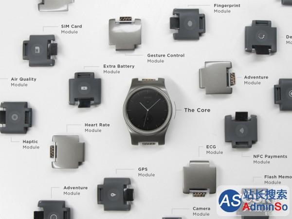 模块化智能手表BlocksWearable正式登陆市场