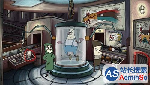 内心世界第十五幕攻略 秘密实验室