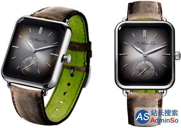 外形神似苹果Apple Watch 瑞士表商推高端机械表