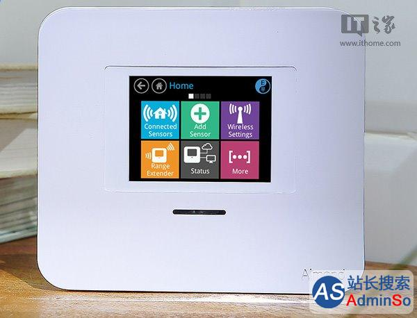 Securifi发布Almond 3家用无线路由器 仿Win10磁贴触控