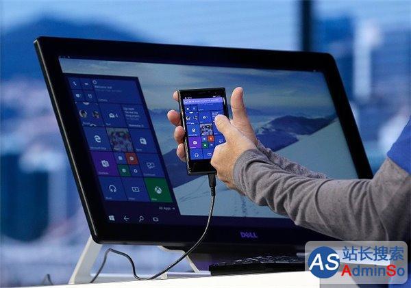 """当微软""""将Win10 Mobile手机变成电脑"""""""