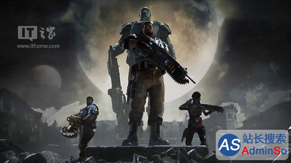 噩梦重生风暴来临 《战争机器4》CG预告完整版公布