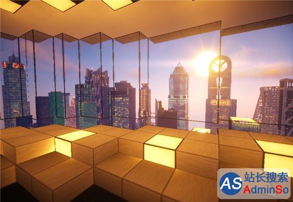 玩家用《我的世界》高度还原纽约时代广场,细节…