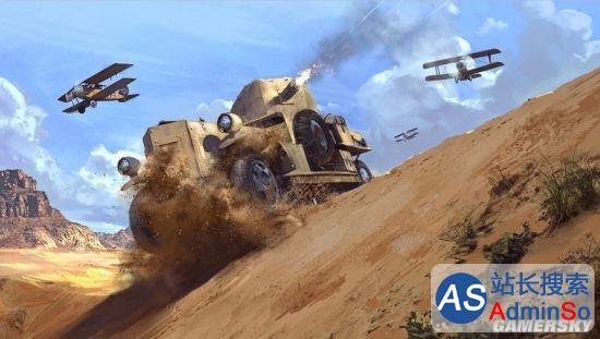《战地1》大量精美原画:一战战场如此劲爆