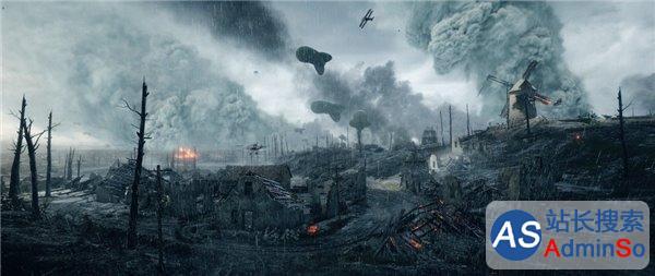 《战地1》超逼真天气系统曝光:雨雾以假乱真