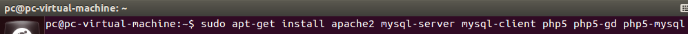 Ubuntu下LAMP环境配置教程(linux)