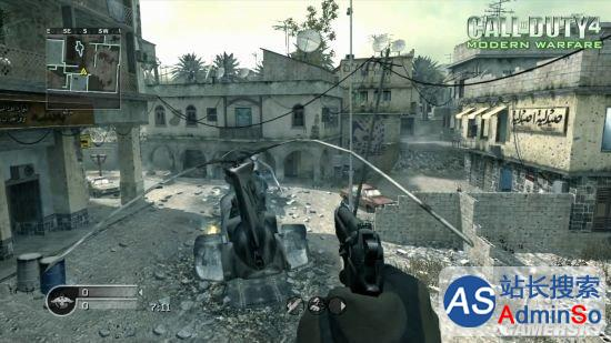 《使命召唤4》重制版多人VS旧版:画面更加强大