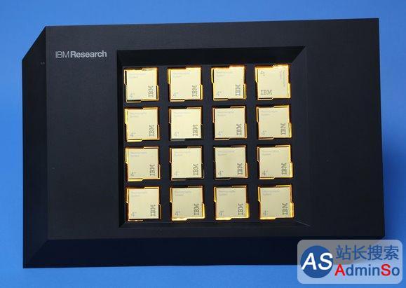 100万神经元模拟思考 IBM电子大脑芯片诞生