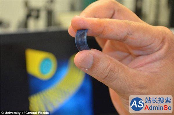 """美发明""""超级电池"""":能弯曲,充电极快"""