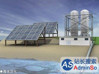 能源转换效率80% 我国科学家研制高效太阳能海水淡化技术