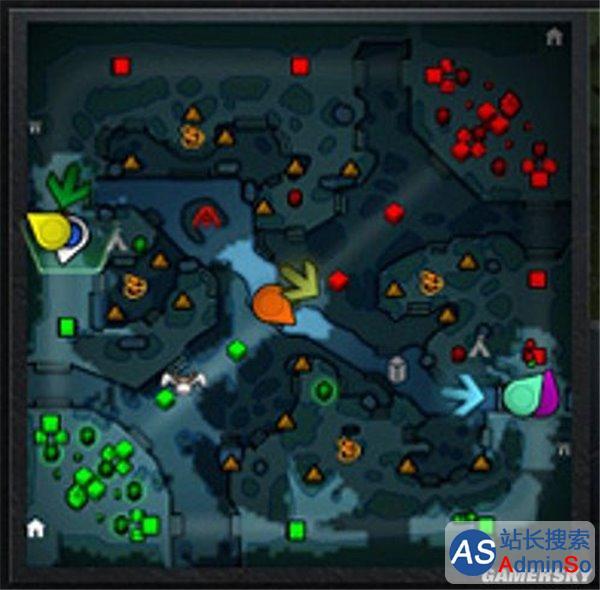 变化巨大小心迷路 《Dota2》7.0版本地图详解
