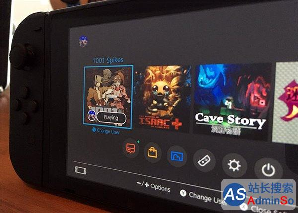 UI风格不再低龄化 任天堂Switch系统界面放出