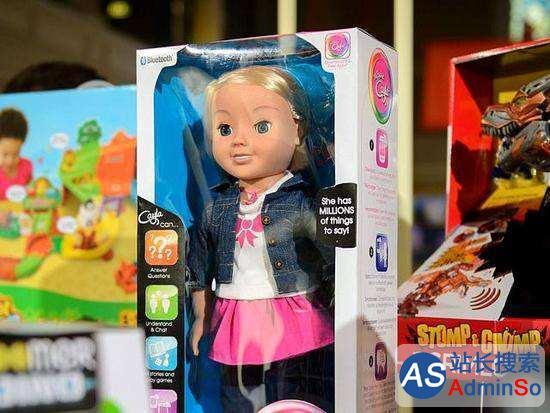 称是窃听装置 德国禁售一款美国智能玩具