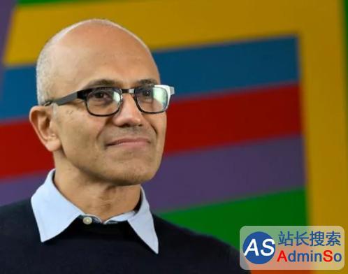 纳德拉执掌微软三年改变了什么?股价上涨80%