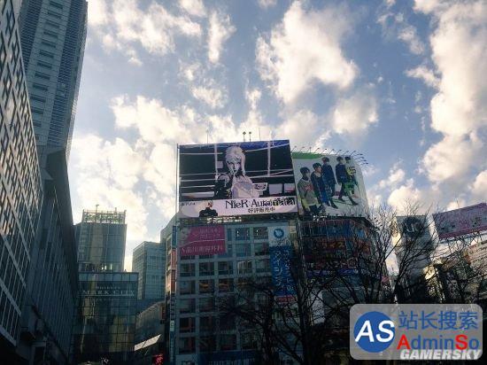 机械纪元》在东京投放楼体广告 《尼尔