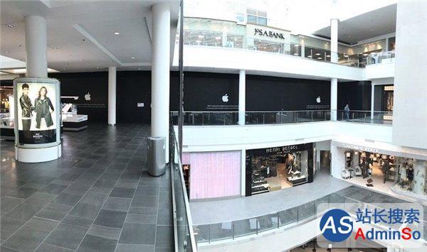 采用新设计 又一苹果店翻新完毕即将开业