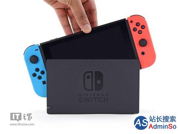任天堂赚翻:Switch销量已达274万台
