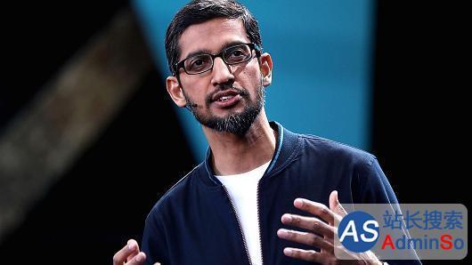 谷歌业绩大好,CEO皮查伊去年薪酬达到了2亿美元