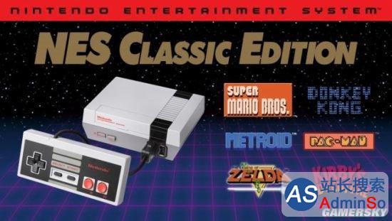 任天堂宣布迷你NES卖了230万台:停产逼不得已