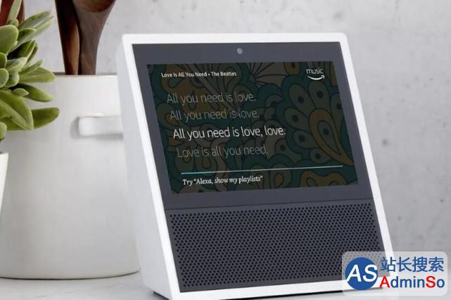 亚马逊发布新一代智能音箱Echo Show 还果真配了触屏