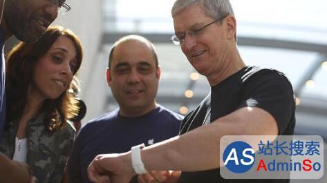 苹果手表支持血糖测量很有戏:库克已戴上原型产品