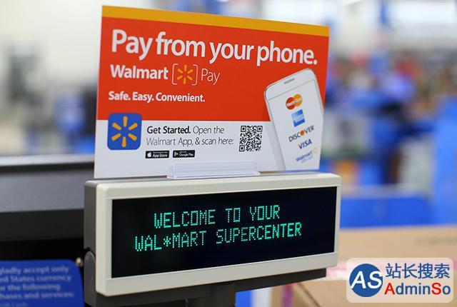扫码支付在美国也击败了NFC 沃尔玛支付反超安卓支付