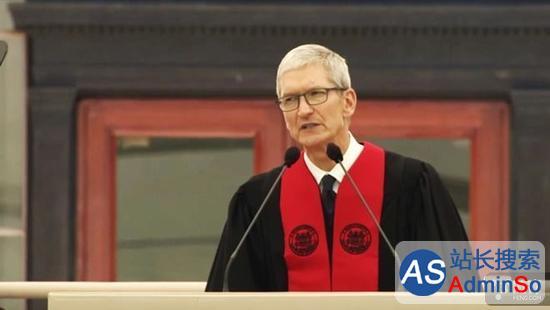 库克:苹果公司让我树立了更远大的目标