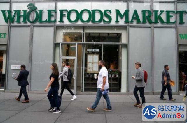 亚马逊吞下全食超市是为了追赶中国电商巨头