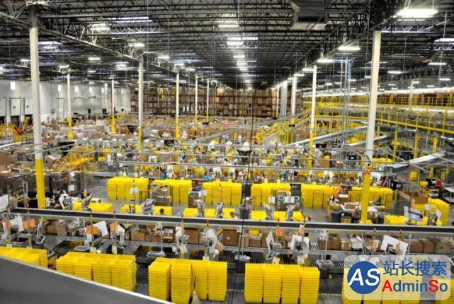 亚马逊斥资1.4亿美元建物流中心 创造1600个就业岗位