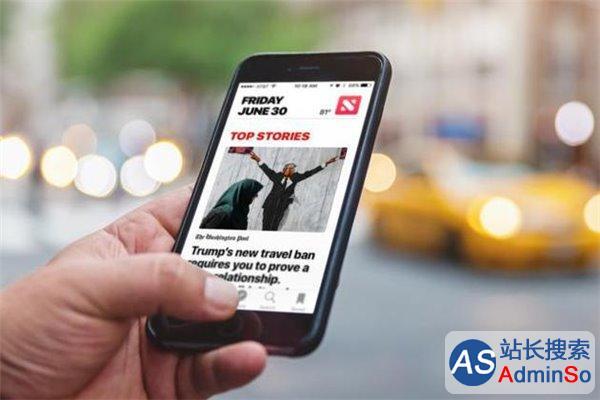 收入过低:传苹果新闻应用将允许发布商投放广告
